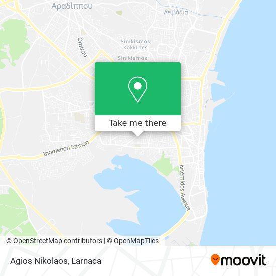 Agios Nikolaos χάρτης