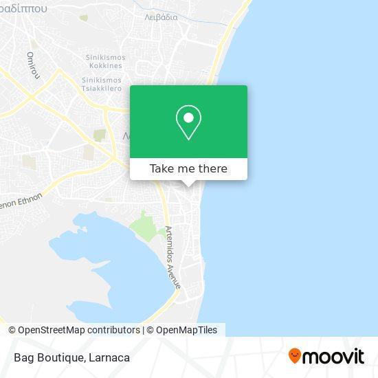 Bag Boutique χάρτης