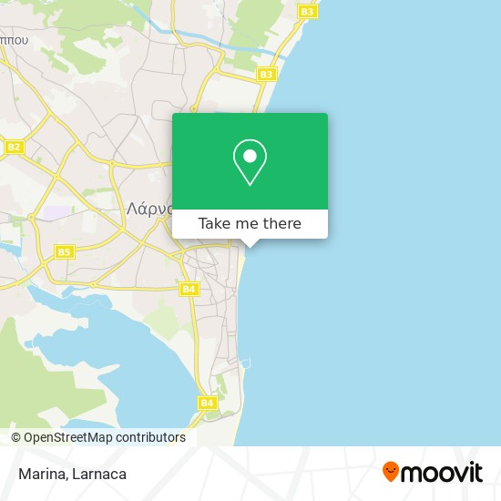 Marina χάρτης