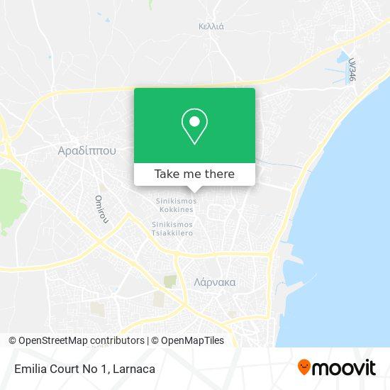 Emilia Court No 1 χάρτης