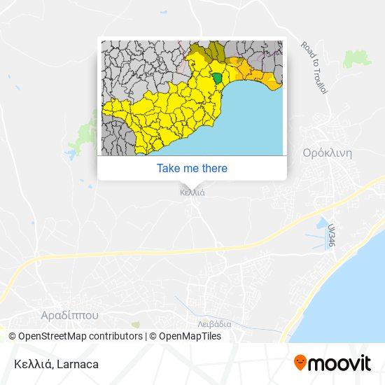 Kellia χάρτης