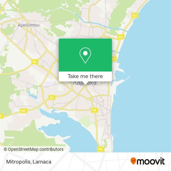 Mitropolis χάρτης