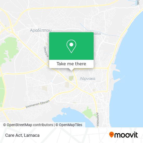 Care Act χάρτης