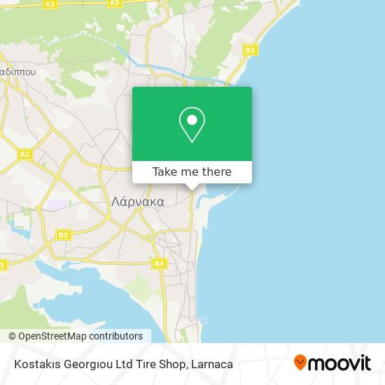 Tirefix χάρτης