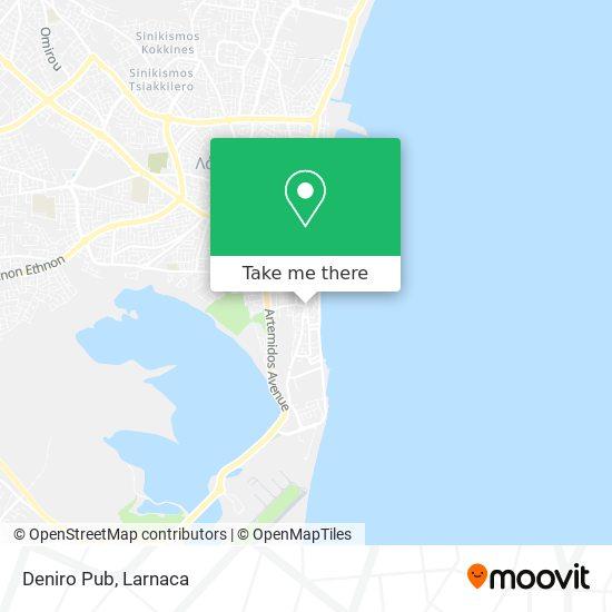 Deniro Pub χάρτης