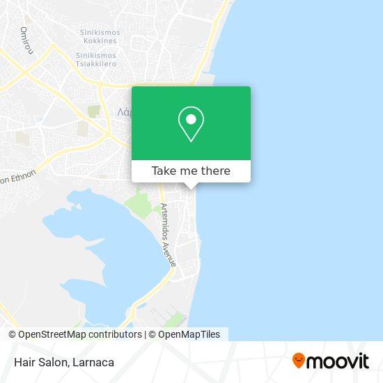 Hair Salon χάρτης