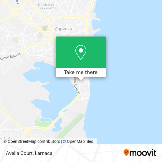 Avelia Court χάρτης