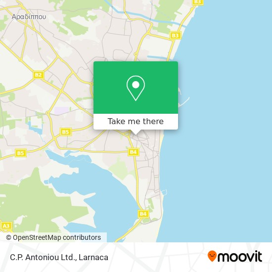C.P. Antoniou Ltd. χάρτης