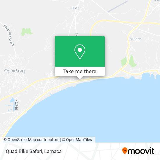 Quad Bike Safari χάρτης