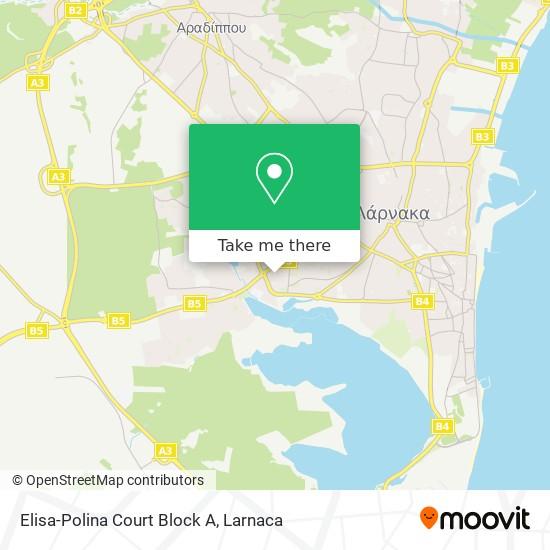 Elisa-Polina Court Block A χάρτης