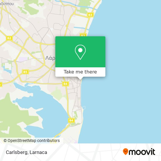 Carlsberg χάρτης