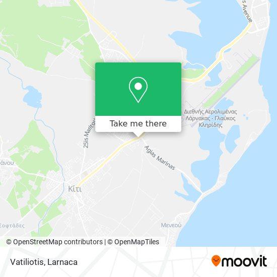 Vatiliotis χάρτης
