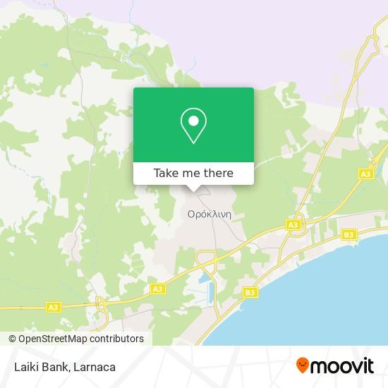 Laiki Bank χάρτης