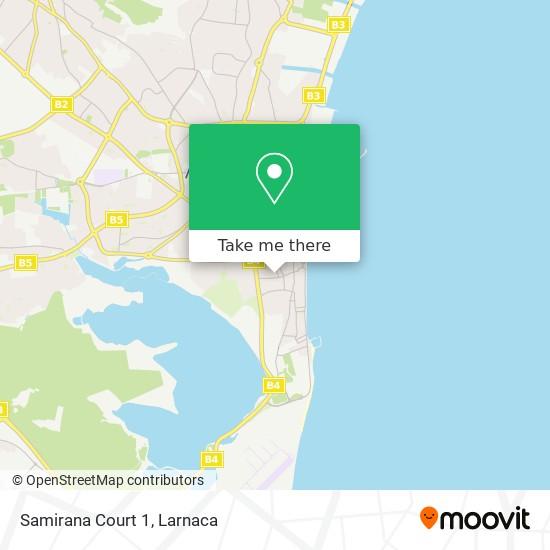 Samirana Court 1 χάρτης
