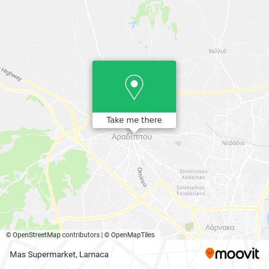 Mas Supermarket χάρτης