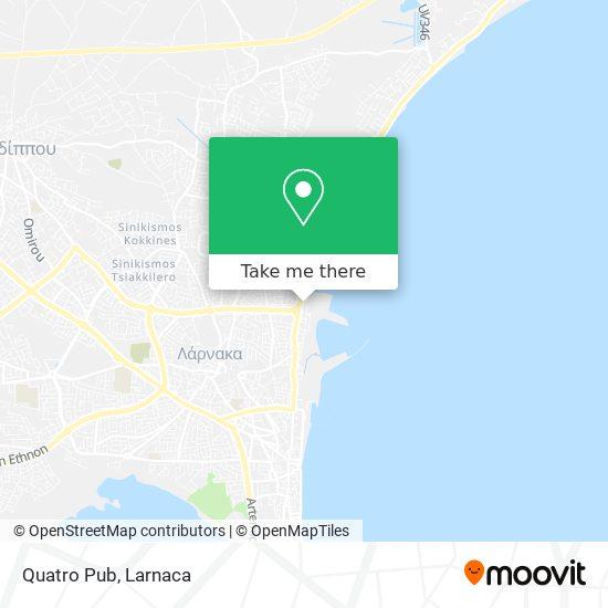 Quatro Pub χάρτης