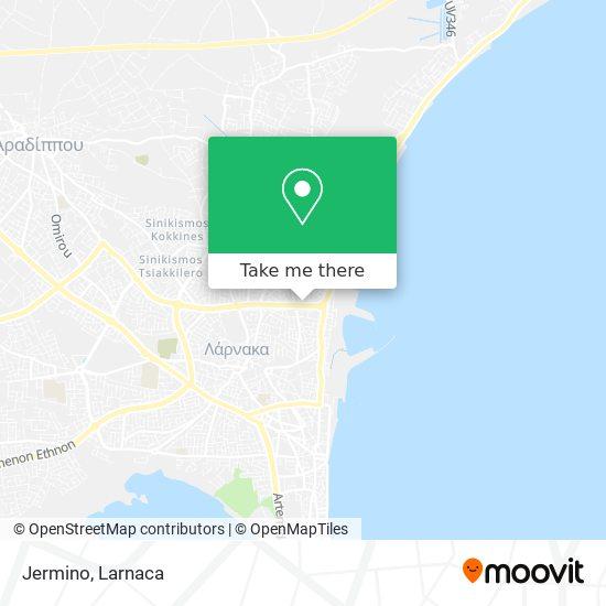 Jermino χάρτης