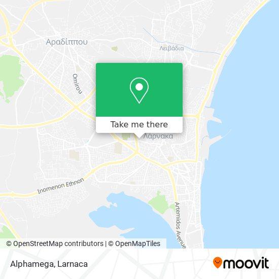 Alphamega χάρτης