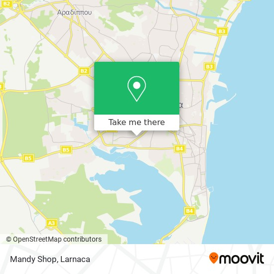 Mandy Shop χάρτης
