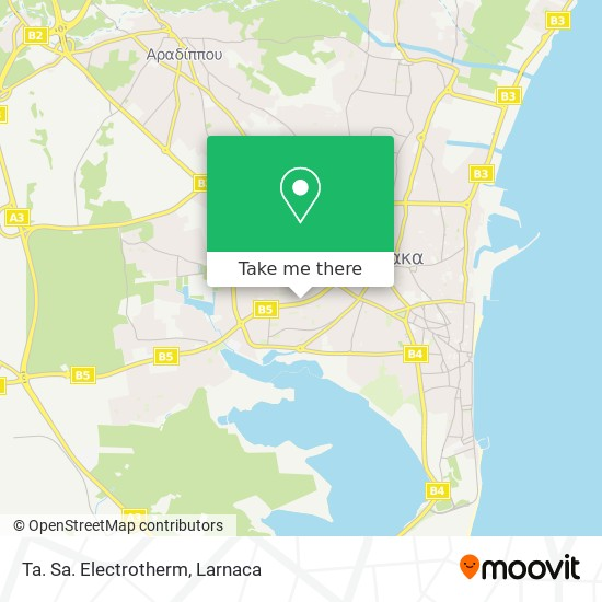 Ta. Sa. Electrotherm χάρτης