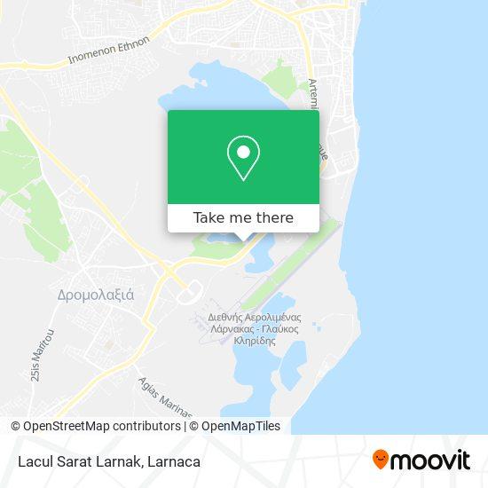 Lacul Sarat Larnak χάρτης