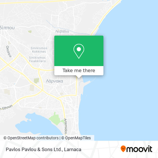 Pavlos Pavlou & Sons Ltd. χάρτης