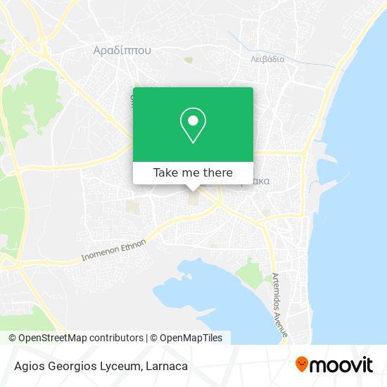 Agios Georgios Lyceum χάρτης
