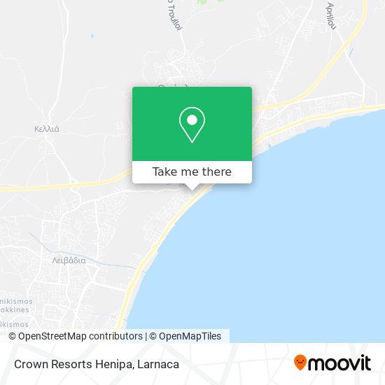 Crown Resorts Henipa χάρτης