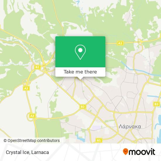 Crystal Ice χάρτης