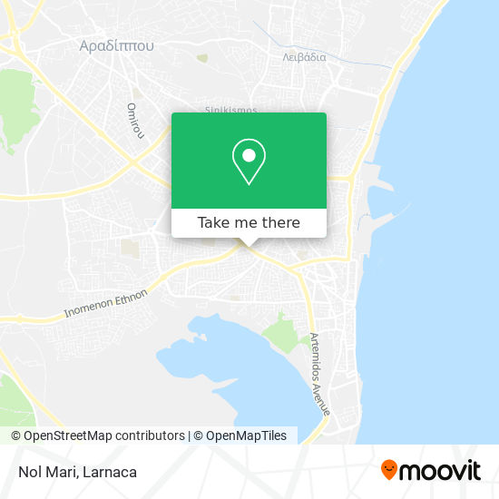 Nol Mari χάρτης