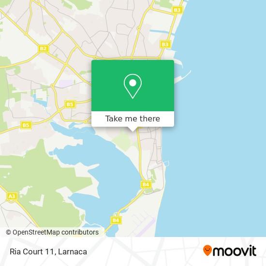 Ria Court 11 χάρτης