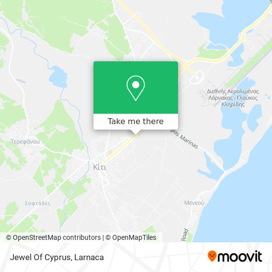 Jewel Of Cyprus χάρτης