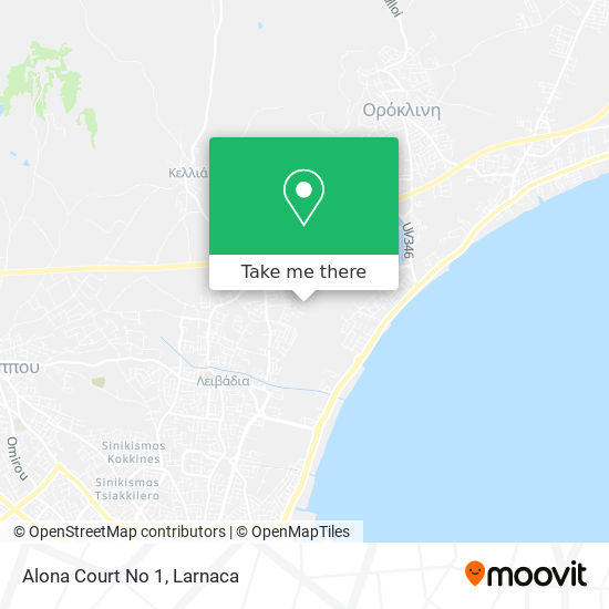 Alona Court No 1 χάρτης