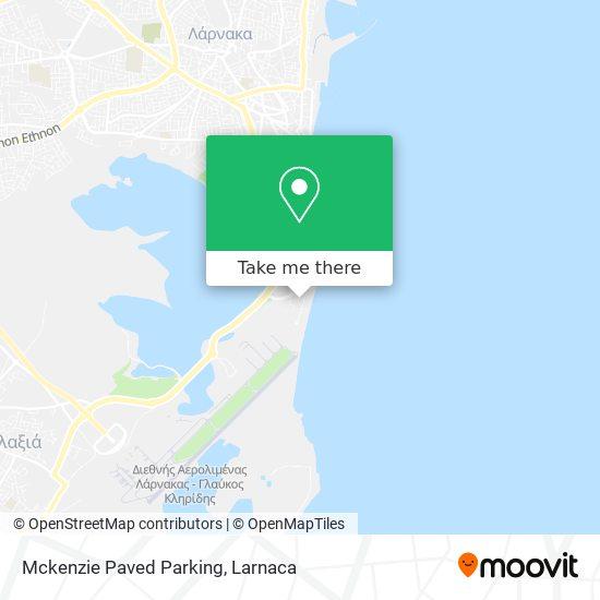 Mckenzie Paved Parking χάρτης