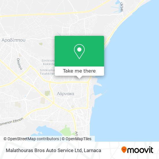Malathouras Bros Auto Service Ltd χάρτης
