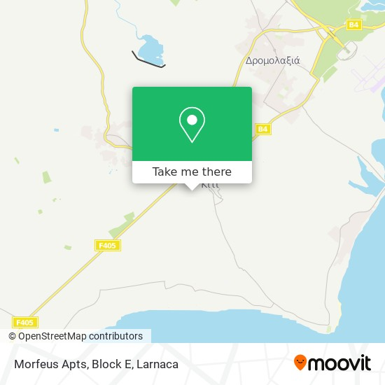Morfeus Apts, Block E χάρτης