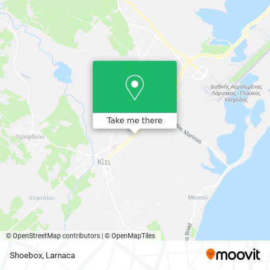 Shoebox χάρτης