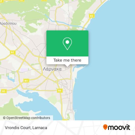 Vrondis Court χάρτης
