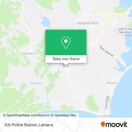 Kiti Police Station χάρτης