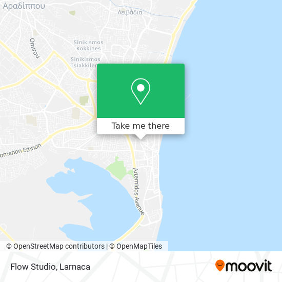 Flow Studio χάρτης