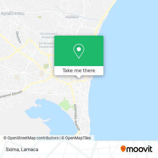 Sxima χάρτης