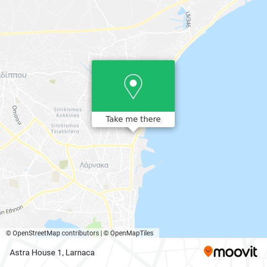 Astra House 1 χάρτης
