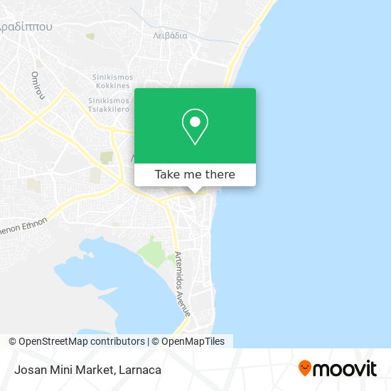 Josan Mini Market χάρτης