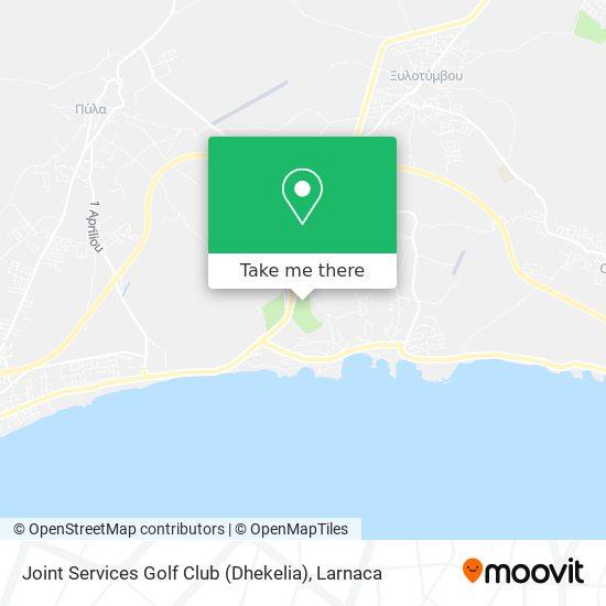 Joint Services Golf Club (Dhekelia) χάρτης