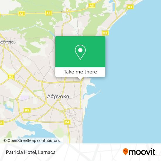 Patricia Hotel χάρτης
