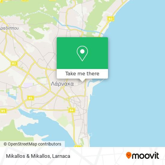 Mikallos & Mikallos χάρτης