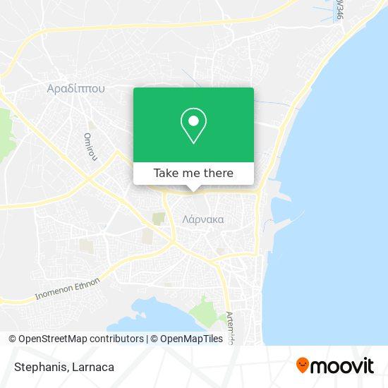 Stephanis χάρτης