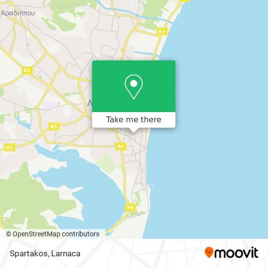 Spartakos χάρτης