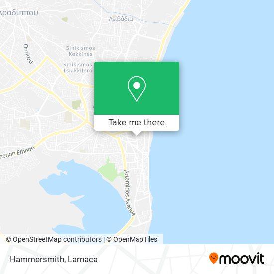 Hammersmith χάρτης