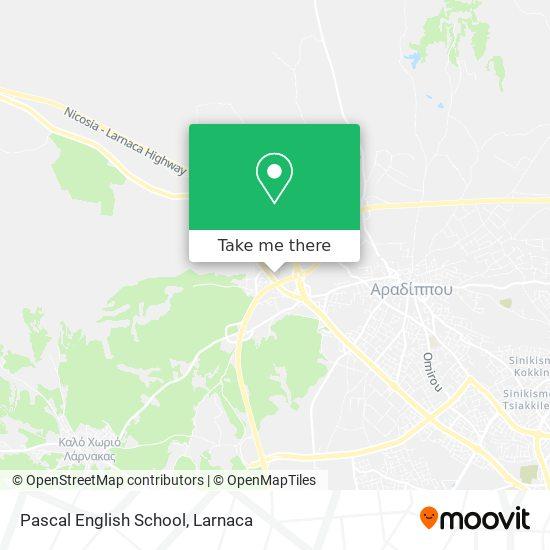 Pascal English School χάρτης